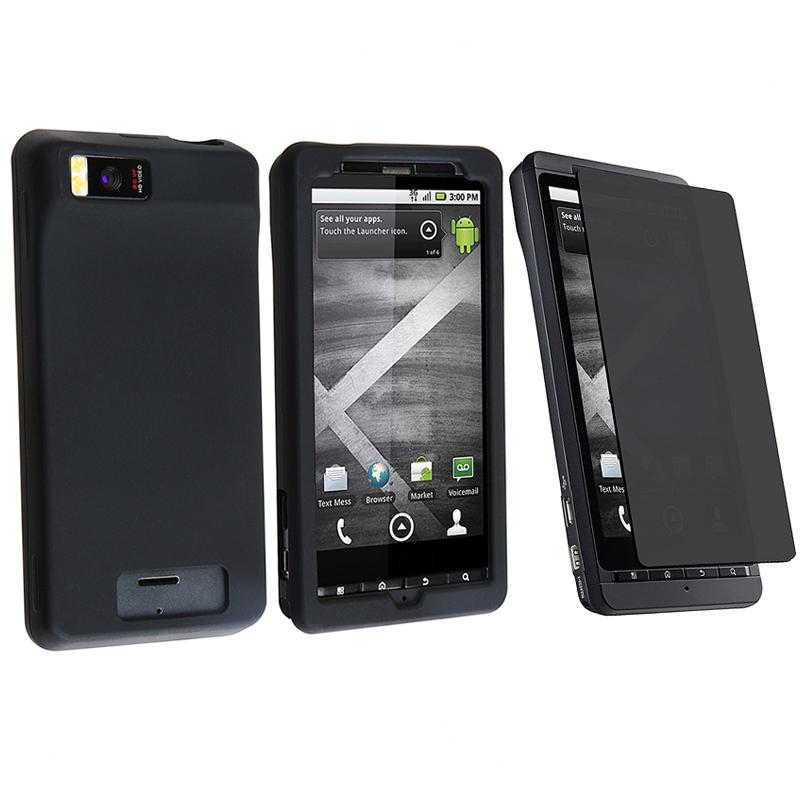 Case/ Privacy Screen Protector for Motorola Droid Xtreme