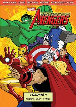 Avengers: Earth's Mightiest Heroes! Vol. 4 (DVD)