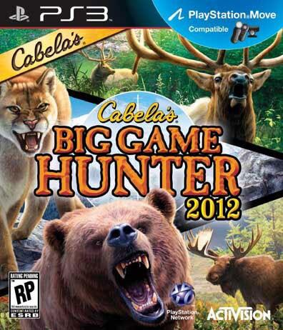 PS3 - Cabelas Big Game Hunter 2012