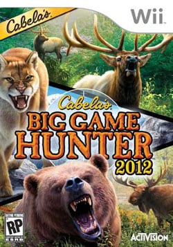 Wii - Cabela's Big Game Hunter 2012
