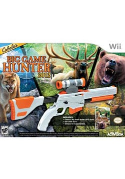 Wii - Cabela's Big Game Hunter 2012 with Gun