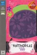 NIV Faithgirlz! Bible: New International Version, Spring Green/Petal Purple, Italian Duo-Tone (Paperback)