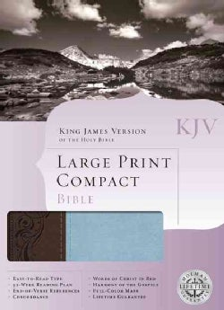 Holy Bible: King James Version Brown / Blue Duotone Imitation Leather (Paperback)