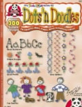 Dots N Doodles: For Ceramics Glass Plastic Metal Scrapbooks & More (Paperback)