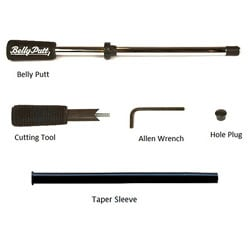 Heavy Duty Steel Belly Putter