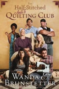 The Half-Stitched Amish Quilting Club (Paperback)