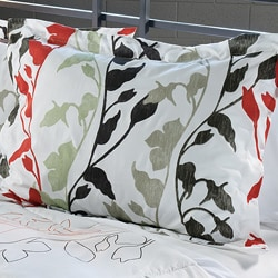 Grace Red 3-Piece Full/ Queen-size Comforter Set