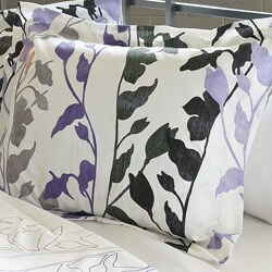 Grace Purple 3-Piece King-size Comforter Set