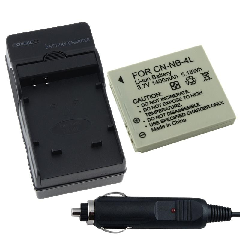 INSTEN Battery/ Charger for Canon PowerShot SD600/ SD750/ SD630
