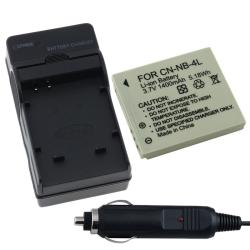 Battery/ Charger for Canon PowerShot SD600/ SD750/ SD630