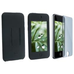 Black Case/ LCD Protector for Apple iPod touch 1st Gen