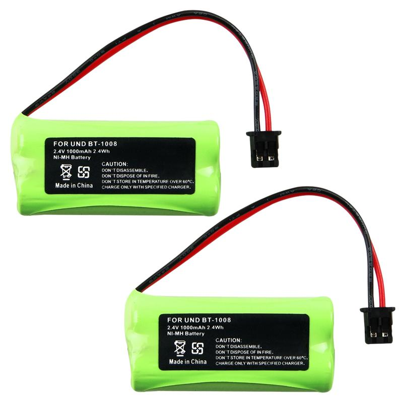 INSTEN Ni-MH Battery for Uniden BT-1008 (Pack of 2)