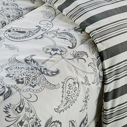 Cordoba Grey Twin-size 2-piece Duvet Cover Set