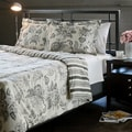 Cordoba Grey Full/ Queen-size 3-piece Duvet Cover Set