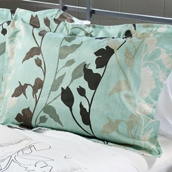 Grace Teal Full/ Queen-size 3-piece Duvet Cover Set