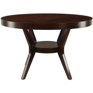 Furniture of America Pyrennes Espresso Dining Table