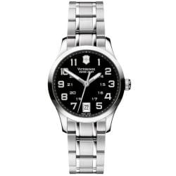 Victorinox Swiss Army Women's 'Alliance' Black Dial Bracelet Watch