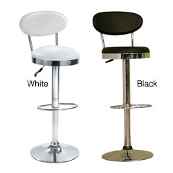 Height-Adjustable Swivel Beer Bar Stool Chair