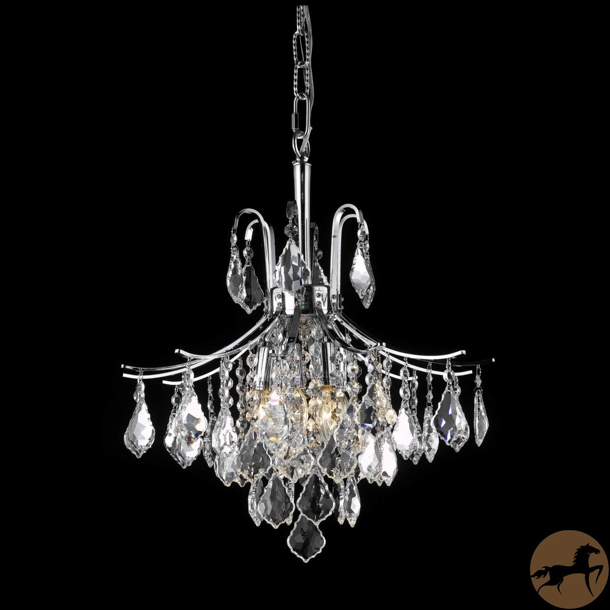 Christopher Knight Home Crystal Chrome 6-light 64955 Collection Chandelier at Sears.com