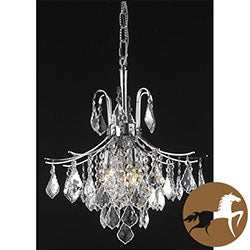 Christopher Knight Home Crystal Chrome 6-light 64955 Collection Chandelier