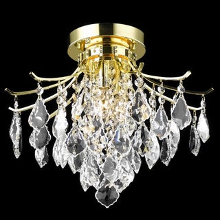 Christopher Knight Home Crystal Gold 3-light 64986 Collection Chandelier