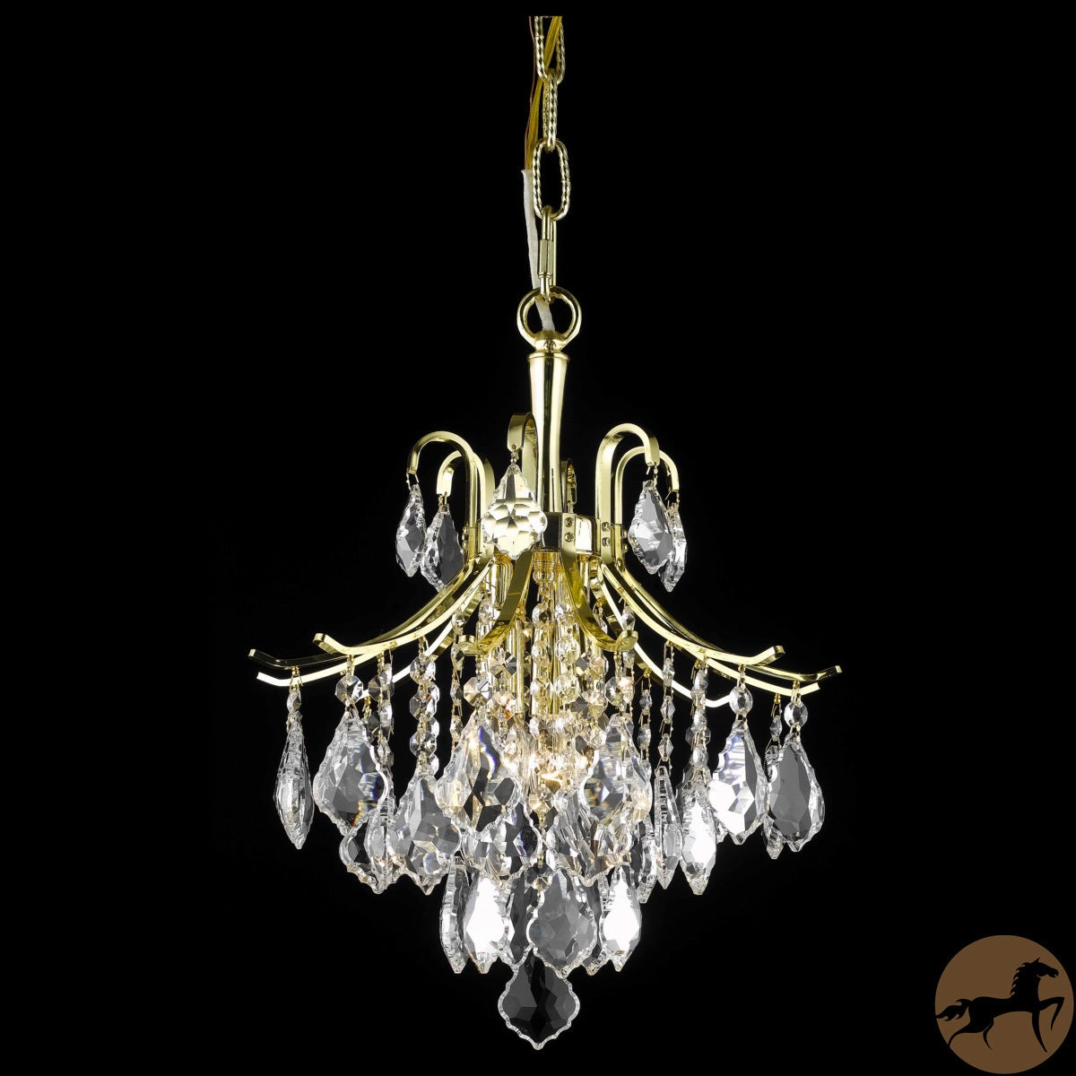 Christopher Knight Home Crystal Gold 6-light 64948 Collection Chandelier at Sears.com