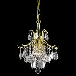 Christopher Knight Home Crystal Gold 6-light 64948 Collection Chandelier