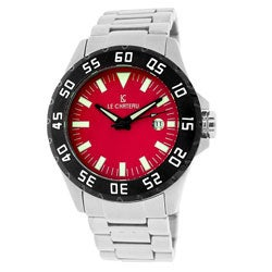 Le Chateau Men's All Steel Dynamo Automatic Watch