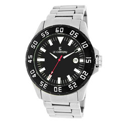 Le Chateau Men's All Steel Dynamo Stainless Steel Automatic Watch