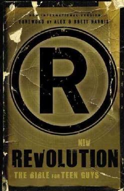 Revolution: New International Version, The Bible for Teen Guys (Hardcover)