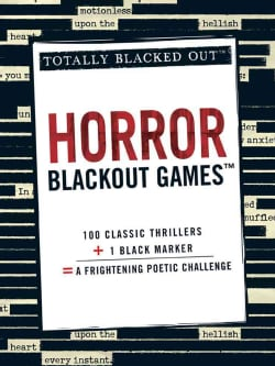 Horror Blackout Games: Totally Blacked Out (Paperback)
