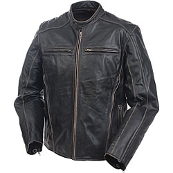 Mossi Men's 'Drifter' Premium Leather Jacket