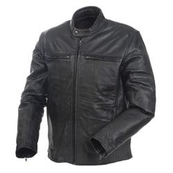 Mossi Men's Cruiser Premium Leather Jacket