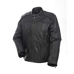 Mossi Men's 'Retro' Premium Leather Jacket