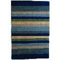 Jovi Home Tailored Multi-Stripe Hand-Tufted Wool Rug (4'x6')