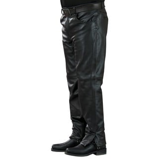 Mossi Mens Leather Pants 34