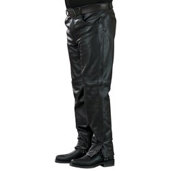 "Mossi Mens Leather Pants 34"" Inseam"