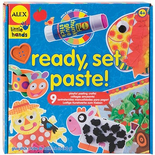 Little Hands Ready, Set, Paste Kit