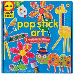 Little Hands Pop Stick Art Kit