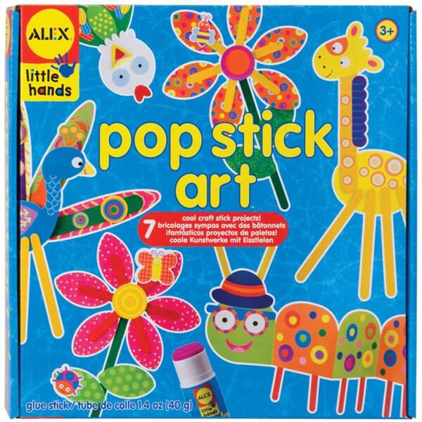 Alex Toys Little Hands Pop Stick Art Kit 8226931