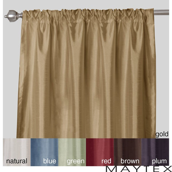 3 Inch Rod Pocket Curtains Wide Sheer Curtains