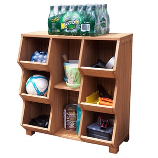 Fir Wood Storage Cubby