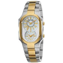 Philip Stein Women's 'Signature' Two Tone Watch