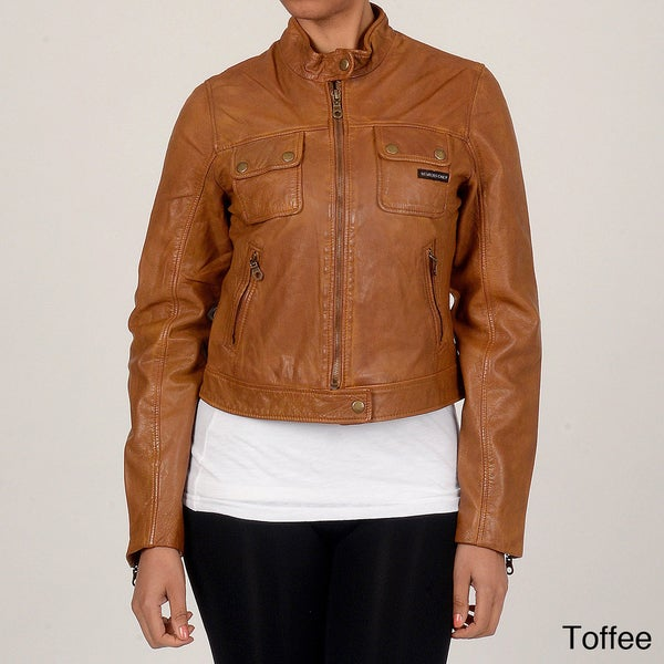 Member's Only Women's New Aviator Jacket