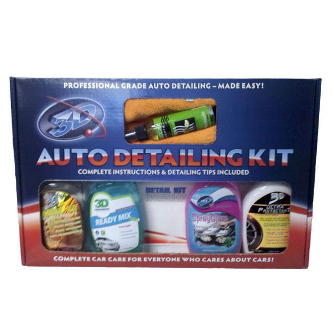 3D Auto Detailing Kit 3