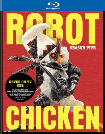 Robot Chicken: Season Five (Blu-ray Disc)