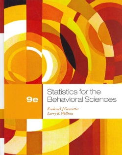 Statistics for the Behavioral Sciences (Hardcover)
