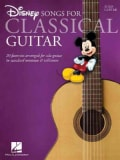 Disney Songs for Classical Guitar: Standard Notation & Tab (Paperback)