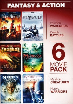 6-Movie Pack: Fantasy & Action (DVD)