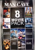 8-Movie Pack: Movies For The Man-Cave (DVD)